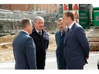 Mr. Igor I. Sechin and Mr. Alexey G. Dyumin Visit Shchekinoazot